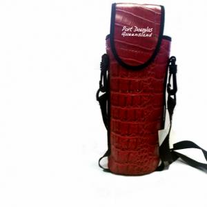 Bottle Cooler Red Croc Skin 1.25L