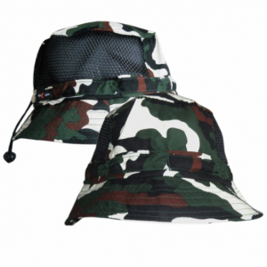 Microfibre Camo Bucket Hat