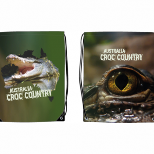 Croc Country Sublimated Nylon Backpack