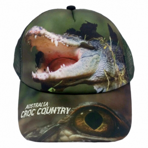 Croc Country Sublimated Truckers Cap