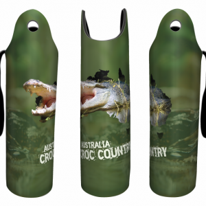 Croc Country Wine Bottle Cooler