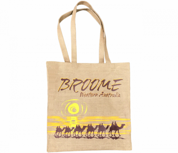 Hessian Tote Bag