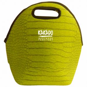 Six Pack Carry Case Green Croc Skin