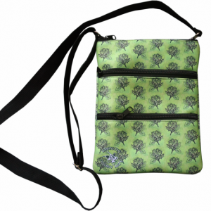 Oorany Arts Flowers 3 Zip Bag