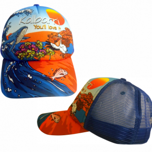 Sublimated Truckers Cap