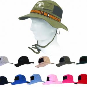 Woven Tape Bush Hat
