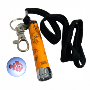 Clown Fish Torch Projector Key Ring