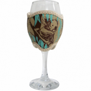 Hessian Wine Glass Cooler