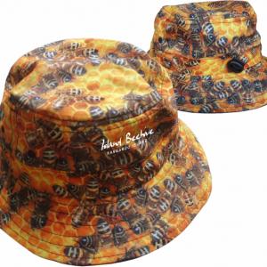 Honey Bees Kids Bucket Hat