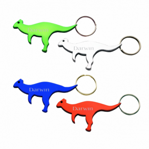 Kangaroo Bottle Opener Key Ring