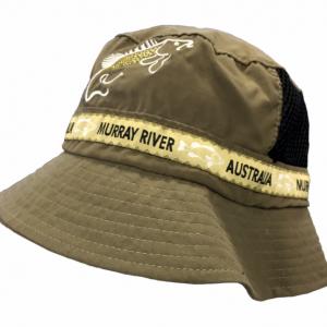 Microfibre Bucket Hat Murray river Cod