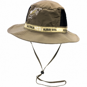 Microfibre Bush Hat Murray River Cod