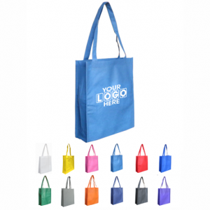 Printed Budget Shoppe Bag