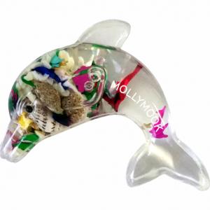 Dolphin Seashells Magnet