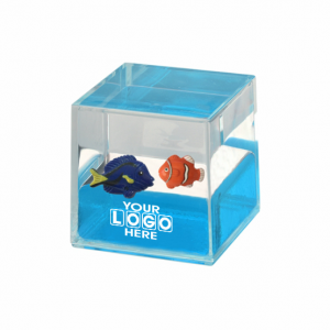 Oily Cube Blue Tang and Clown Fish Floaters