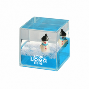 Oily Cube Snowman Floaters