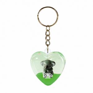 Oily Heart Key Ring Koala Floater