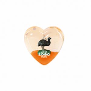 Oily Heart Magnet Emu Floater