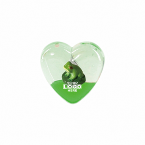 Oily Heart Magnet Frog Floater