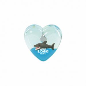 Oily Heart Magnet Shark Floater