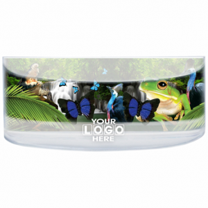 Oily Rectangular Curved Magnet Frog & Waterfall