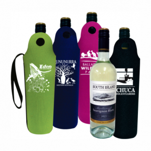 Printed Wine Bottle Cooler