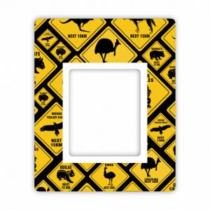 Road Sign Flexi Magnet Photo Frame
