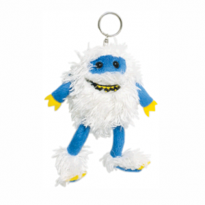 Snow Monster Bag Pal Key Ring