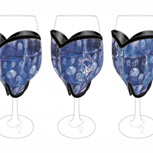 Oorany Arts Jelly Fish Wine Glass Cooler