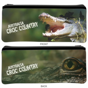 Croc Country Sublimated Small Pencil Case