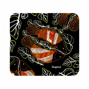 Barra Dugmul Neoprene Coaster