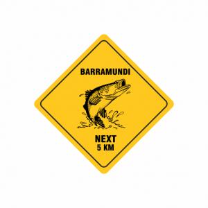Road Sign Budget Flexi Magnet