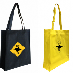 Road Sign Budget Shopper Bags