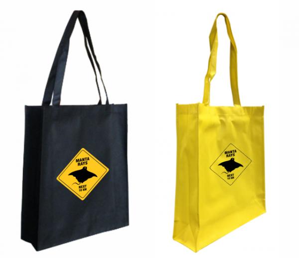 Road Sign Budget Shopper Bags