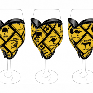 Road Sign Wine Glass Cooler
