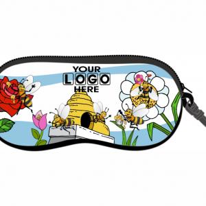 Comic Beehive Glasses Case