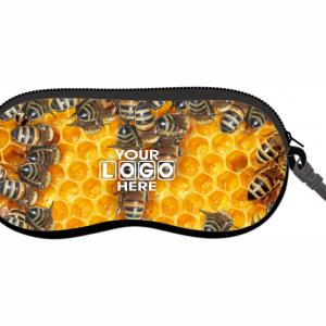 Honey Bees Glasses Case