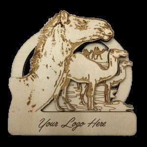 Camel Bamboo Magnet