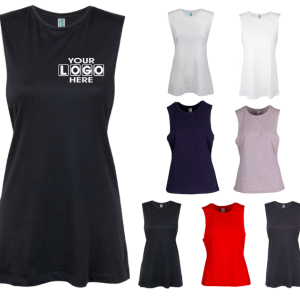 Ladies Sleeveless Tee Feature