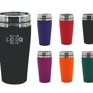 Stainless Steel Rubber Travel Mugs Stainless Steel Inner
